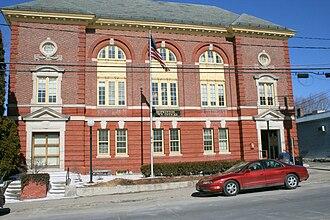 Hopkinton, Massachusetts - Town Hall