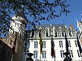 """Hotel """"Kempinski"""", voormalige grafelijke residentie Prinsenhof, Prinsenhof 8, Brugge.JPG"""