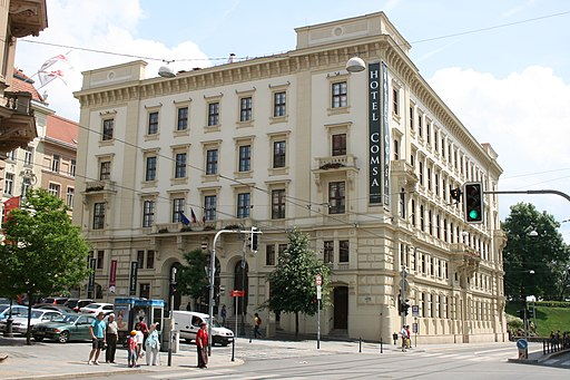 Hotel Comsa Šilingrovo námestí Brno 1