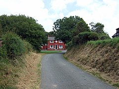 House at road junction, Penparc - geograph.org.uk - 893895.jpg