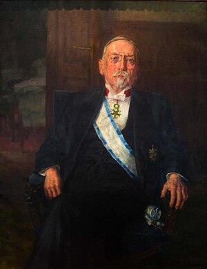 Ivan Hribar - Portrait of Ivan Hribar by Ivana Kobilca