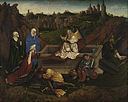 Hubert van Eyck or Jan van Eyck or both - The Three Marys at the Tomb - Google Art Project.jpg