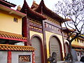 Huguo Chan Buddhist Temple of The Linji School entry 20060303.jpg
