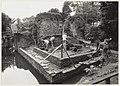 Huis ter Kleef De ruïne wordt door amateurarcheologen onderzocht en gedeeltelijk hersteld. NL-HlmNHA 54032140.JPG