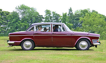 Humber Imperial 1964 a Humber Super Snipe with luxury finishes Humber Imperial.jpg