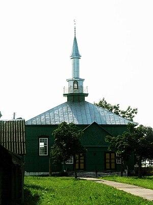 Lipka Tatars - Tatar mosque in the town Iwye, Belarus
