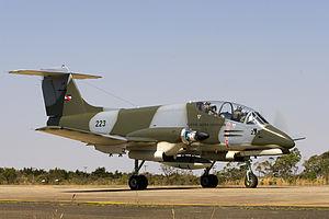 Uruguayan Air Force - A Uruguayan IA-58 Pucará