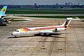 IBERIA MD-87; EC-EZA@LHR;13.04.1996 (5217490992).jpg
