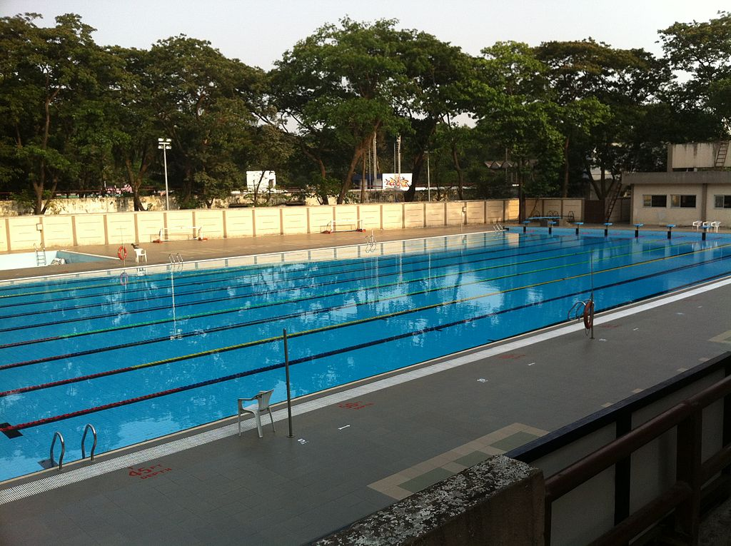 File Iit Bombay Olympic Size Swimming Pool Jpg Wikimedia