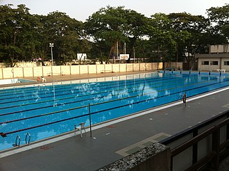 Indian Institute of Technology Bombay - Olympic-size Swimming Pool at IIT Bombay