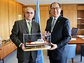 IMO Secretary-General Kitack Lim receives Vice Admiral Vincenzo Melone (26320303221).jpg