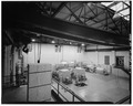 INTERIOR VIEW OF STEAM GENERATORS, FROM ENTRANCE - U. S. Military Academy, Power Plant, West Point, Orange County, NY HABS NY,36-WEPO,1-24-6.tif