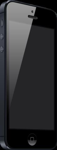 Applen IPhone 5. Kuvalähde: Wikipedia