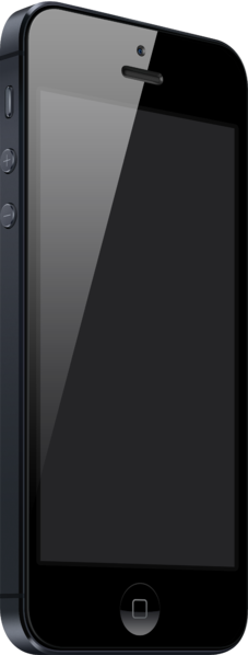 Apple iPhone 5 in black