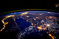 ISS-45 The Nile and Red Sea at Night.jpg