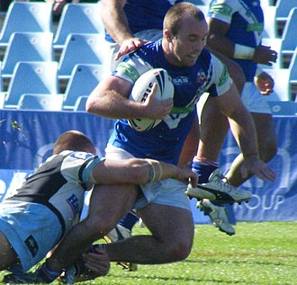 Ian Henderson (rugby league) - Image: Ian Henderson Auckland