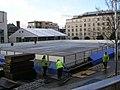 Ice Rink under construction - Millennium Square - geograph.org.uk - 651922.jpg