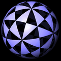 Icosahedral reflection domains