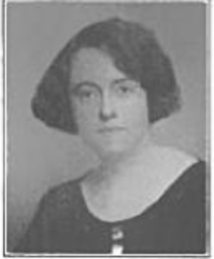 Rachel Barrett - I. A. R. Wylie in 1921, during her time with Barrett.