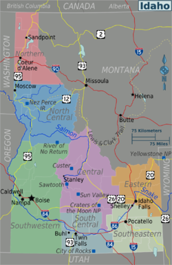 Idaho Travel guide at Wikivoyage