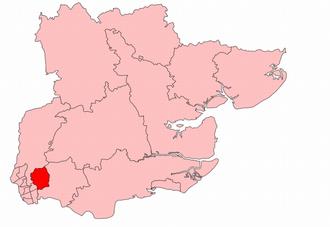 Ilford (UK Parliament constituency) - Ilford in Essex 1918-45