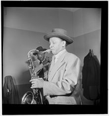 Illinois Jacquet, New York, N.Y., ca. May 1947 (William P. Gottlieb 12581).jpg