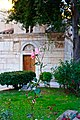 In the courtyard of the Byzantine temple of Agios Eleftherios (Panagia Gorgoepikoos) in Athens.jpg