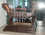 Replica of an ancient Chinese incense clock