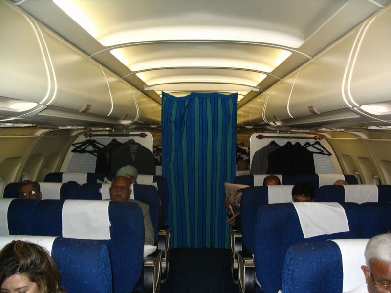 File:Indian Airlines executive class cabin.JPG