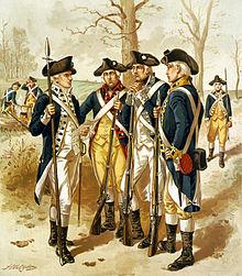 Піхота континентальної армї