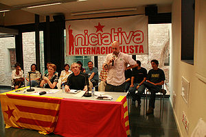 Public presentation of Iniciativa Internaciona...