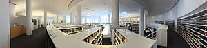 Getty Research Institute - Inside the Getty Research Institute Library