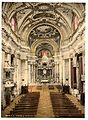 Interior of the Jesuits' Church, Venice, Italy-LCCN2001701061.jpg