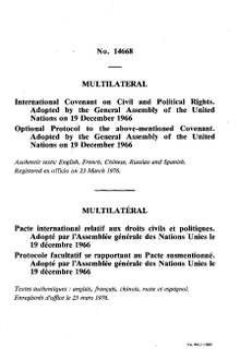 International Covenant on Civil and Political Rights - Wikipedia