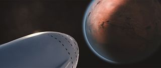 SpaceX Mars transportation infrastructure reusable space launch and spacecraft system proposed by SpaceX