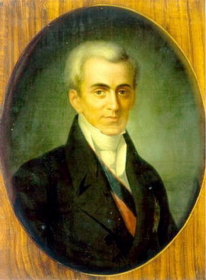 Ioannis Kapodistrias (1776–1831),first head of...