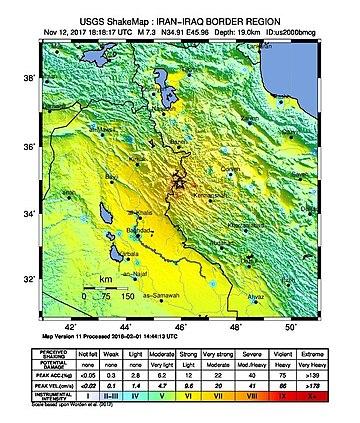 Iran-Iraq border earthquake ShakeMap (cropped).jpg