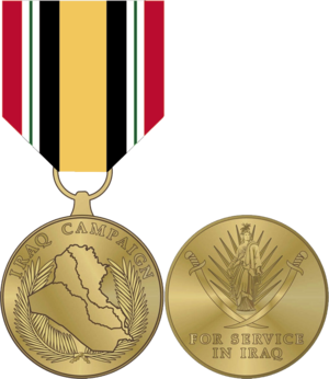 Iraq Campaign Medal - Image: Iraq Campaign Medal