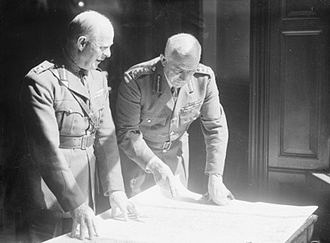 Edmund Ironside, 1st Baron Ironside - Ironside (right) with Lord Gort (left) at the War Office in 1940