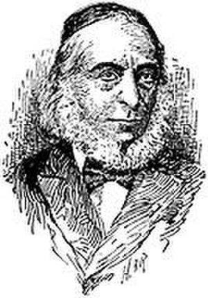 Isaac Hirsch Weiss - Portrait of Isaac Hirsch Weiss, from 1906 Jewish Encyclopedia.