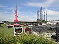 Isle of Wight Festival 2010 mainstage set up.JPG