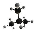 Isobutane Molecule 3D X.jpg