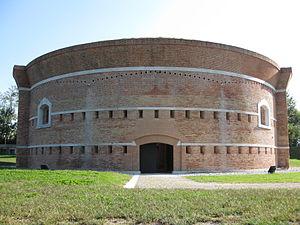 Sant'Erasmo - Image: Isola di Sant'Erasmo Torre Massimiliana