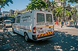Isolation Unit Ambulance In Durban South Africa.jpg