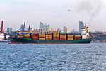 Istanbul Bosphorus Container ship Macaro IMG 7387 1800.jpg