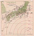 Iwo Jima, Distance Map, 1944.jpg