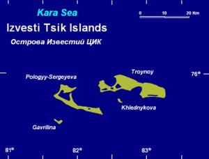 Izvestiy TSIK Islands - Image: Izvestyytsik