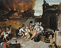 J. Bosch copyist The temptation of St Anthony.jpg