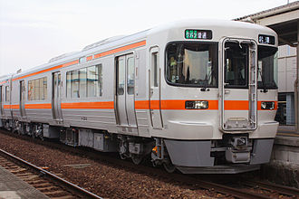Takayama Main Line - Image: JR Central Kiha 25 3 at Okkawa