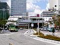 JR East Tamachi-station Shibaura-exit.jpg